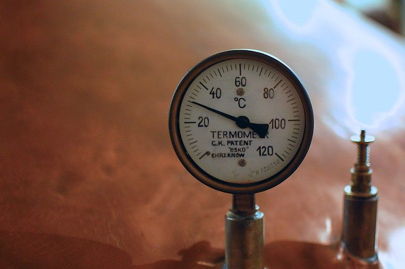 How to distill rye whiskey - temperature if the still