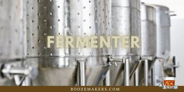 cleaning the fermenter