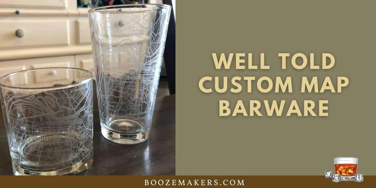 well told custom map barware review