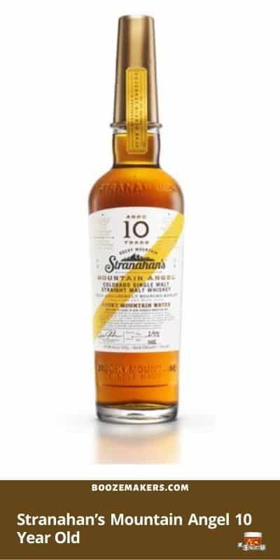Stranahan's Mountain Angel 10 Year Old