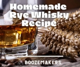 Homemade Moonshine Rye Whiskey Recipe